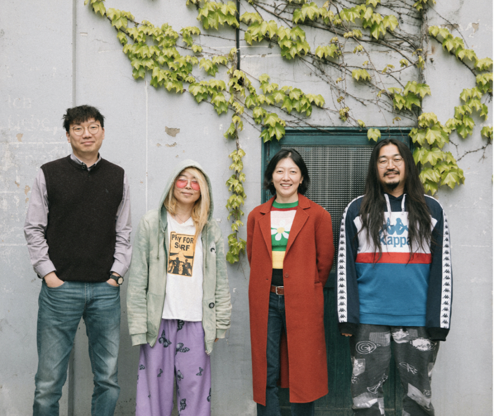<이야기해주세요> 기획팀(왼쪽부터 이윤혁, 황보령, 송은지, 서상혁)