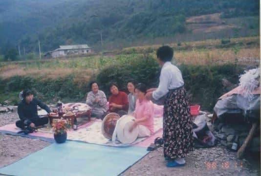 1999.10. 할머니 생신잔치 ⓒ포항여성회
