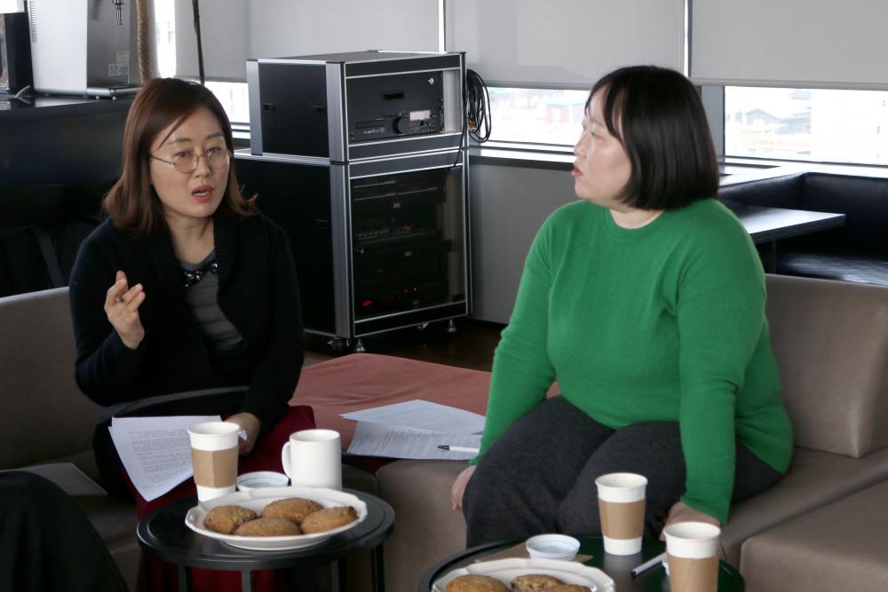 (왼쪽부터) 김청강, 허윤