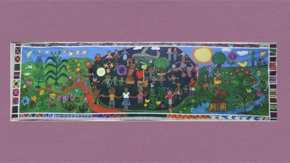 '피해자에서 주체로' 프로젝트의 아트 테라피에서 제작된 작품 (사진출처: 야요리상 홈페이지)
