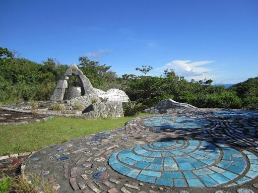 도카시키 섬의 아리랑비(1997년 건립)/  사진 : 홍윤신