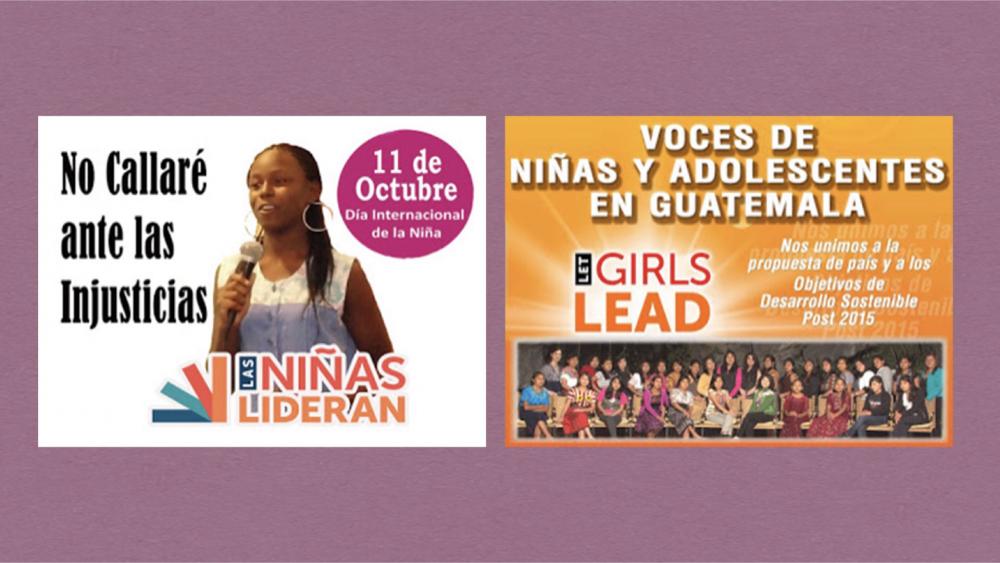 (사진출처: Las Niñas Lideran 홈페이지: http://letgirlsleadguatemala.blogspot.com)