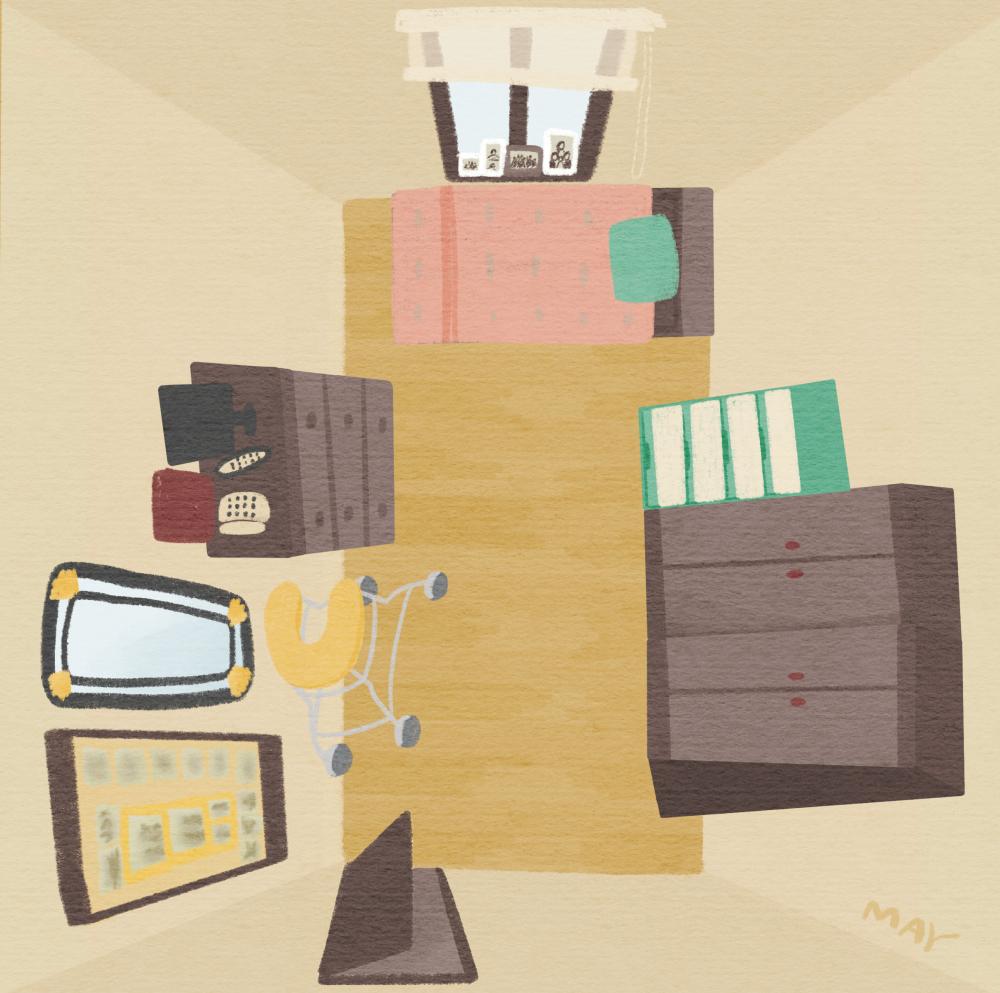 박옥선의 방 (일러스트 : 백정미)