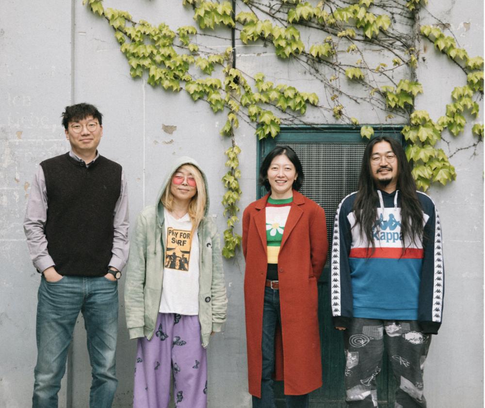 <이야기해주세요> 기획팀 (왼쪽부터 이윤혁, 황보령, 송은지, 서상혁)