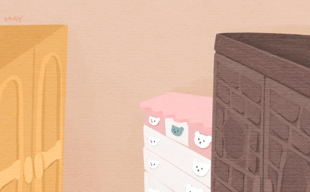 강일출 할머니의 방의 각양각색의 장롱들 ⓒ백정미 디자이너