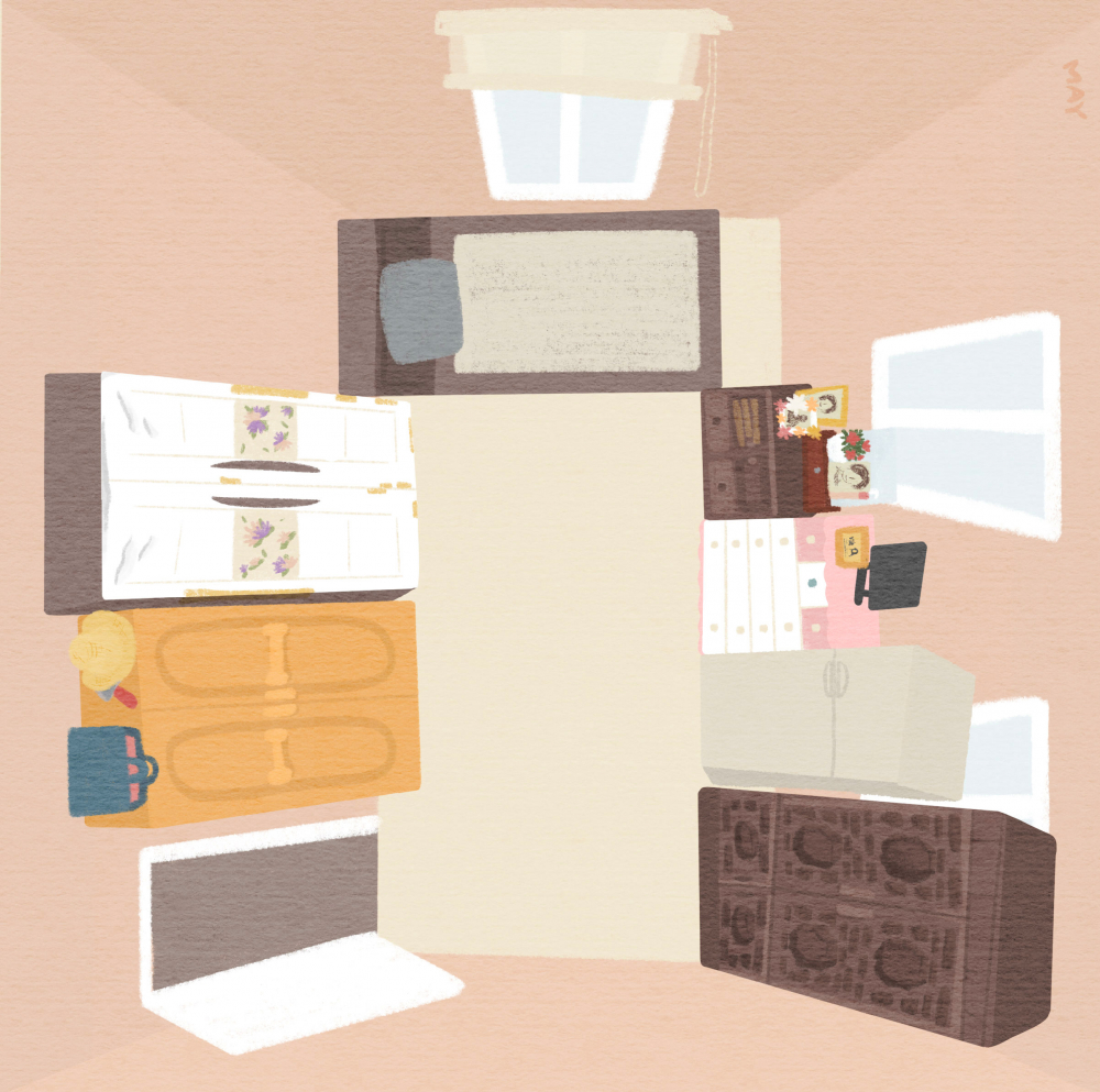 강일출 할머니의 방 ⓒ백정미 디자이너