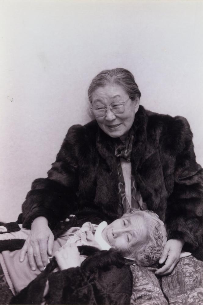김복동(위)과 김순덕.  (사진 제공 : 나눔의 집)