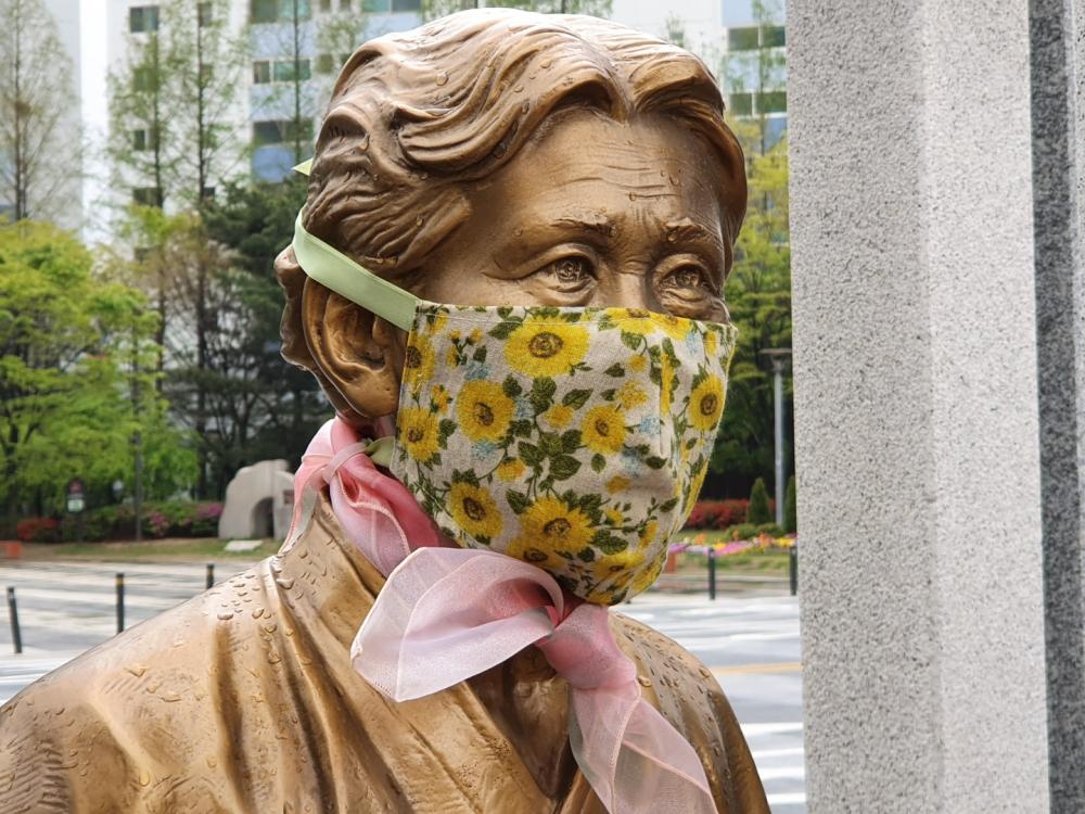 김학순 할머니 동상 (사진 : 어효은)