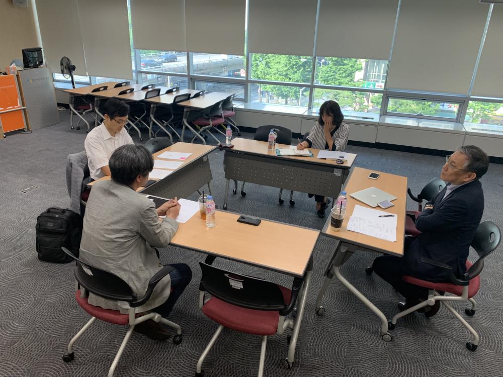 본 좌담회는 2019년 6월 5일 한국여성인권진흥원에서 진행되었다.