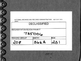 미 전시정보국 49번 보고서, 작성자의 주관적 편견이 투영된 보고서