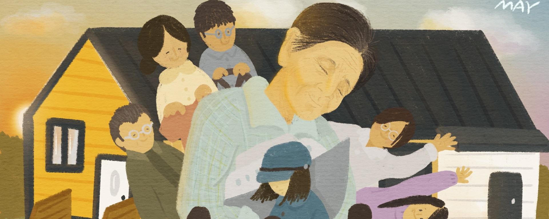 [에세이] 소중한 우리 할머니, 박필근 - '시간과 기억을 잇다'